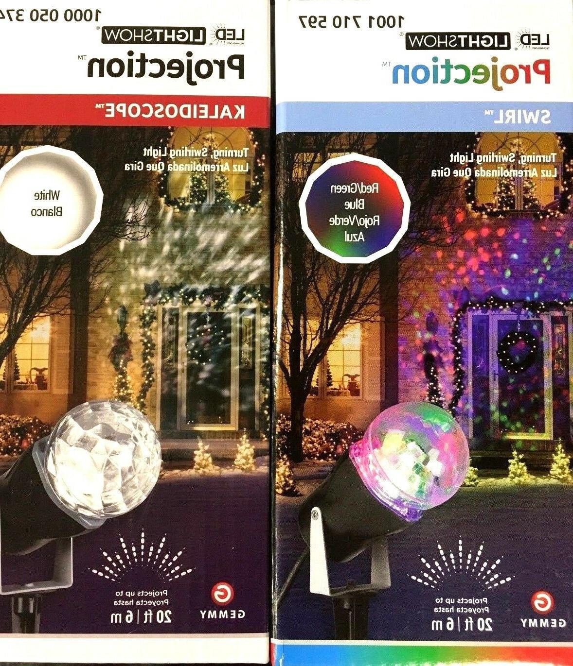 light show motion led spotlight projector patio