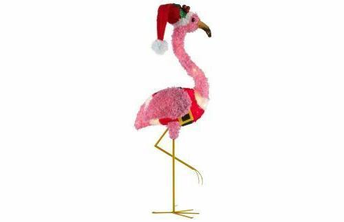 light up fluffy flamingo pink fluffy flamingo