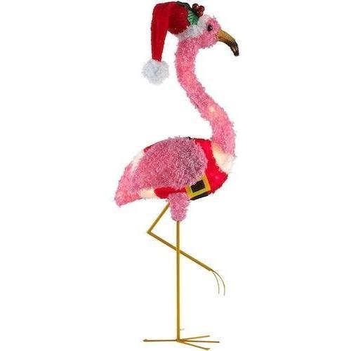 Holiday Time Flamingo