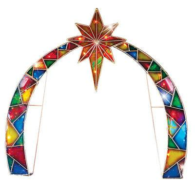 lighted arch