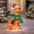 Outdoor Lighted Scooby Doo Christmas Decoration Sculpture Ho