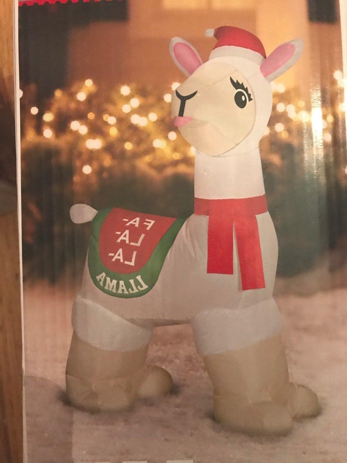 Llama Inflatable Yard 3.5 Tall