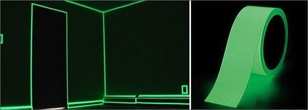 Luminous Photoluminescent Glow In The Dark Tape
