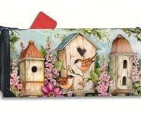 MailWraps Cottage Birdhouse Mail Box Cover 01102