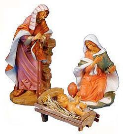 Fontanini by Roman Masterpiece Holy Family 3-Piece Set 18-In