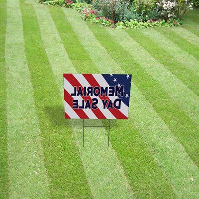 Memorial Lawn Decoration Corrugated Yard