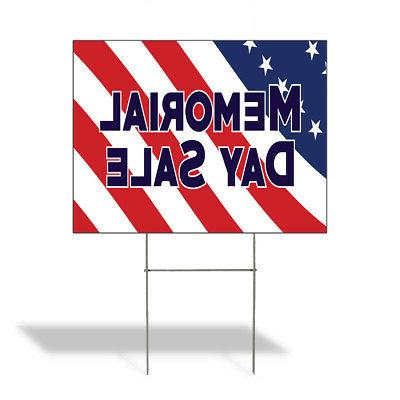 memorial day sale outdoor lawn decoration corrugated