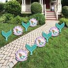 Mermaid & Seashell Lawn Decor - Outdoor Party Yard Decoratio