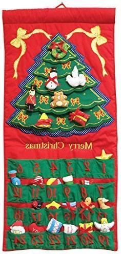Merry Christmas Tree Advent Calendar