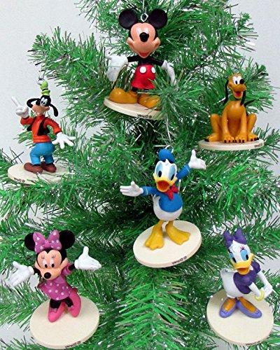 mickey mouse ornament set featuring