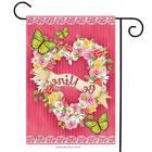 "Be Mine Valentine's Day Garden Flag Briarwood Lane 12.5"" x 1"