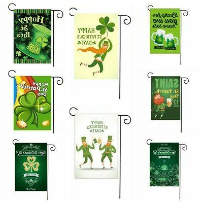 Durable Garden Mini Flags Irish St.Patrick's Day Yard Banner