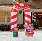 9' Mistletoe Archway Christmas Airblown Inflatable - Holiday