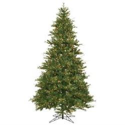 Mixed Country Pine Slim Pre-lit Christmas Tree