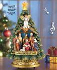 NEW Beautiful Musical Nativity Scene Christmas Light Musical