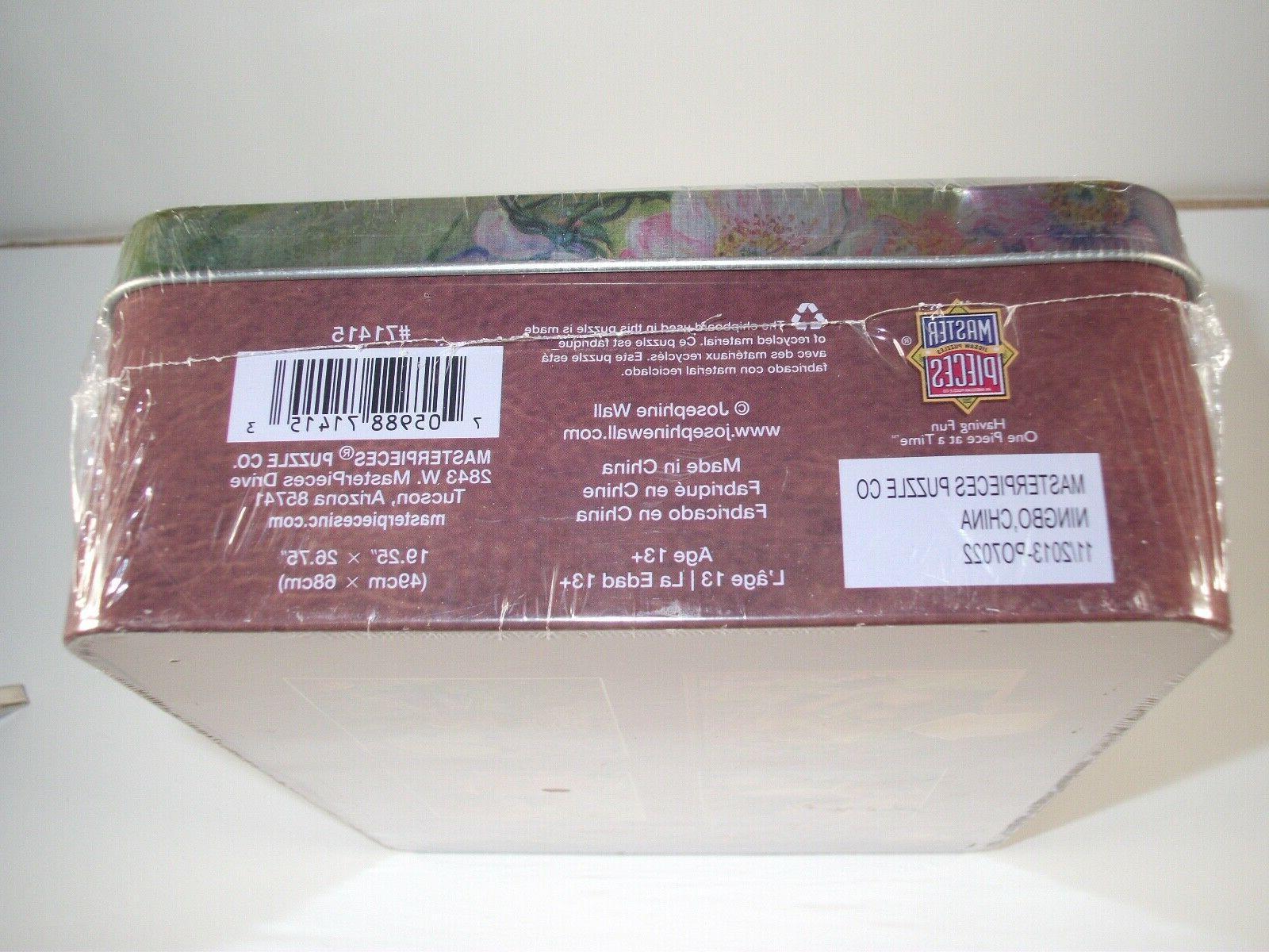 NEW JOSEPHINE WALL Puzzle Sweet Briar Decorative Tin