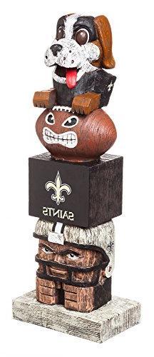 Team Sports America NFL New Orleans Saints Tiki Totem