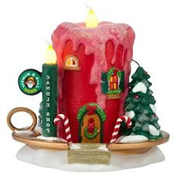 Department 56 North Pole Series Jack B. Nimble Candle Shop