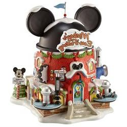 Department 56 North Pole Series Mickey's Ears Factory Lighte