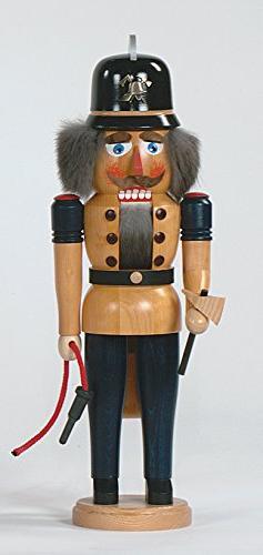 Nutcracker Fireman 41 cm Seiffen Ore Mountains NEW