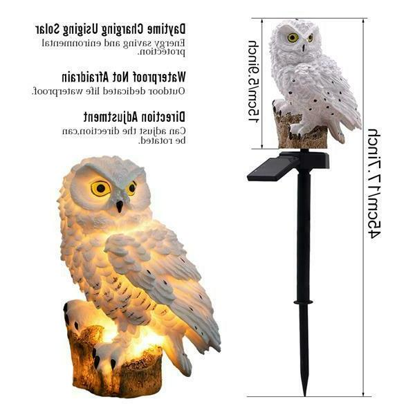 Outdoor Lights Owl Path LED Landscape Light
