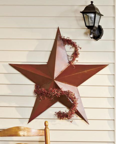 outdoor wall decor metal country rustic barn