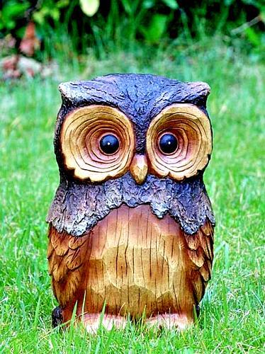 owl animal garden statue 11 5 in