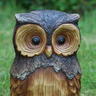 Owl Animal Statue 11.5 Resin