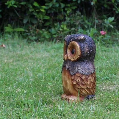 Owl Animal Garden 11.5 Lawn Yard Decor Outdoor Flower Resin
