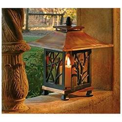 H Potter Pantheon Decorative Patio Tabletop Outdoor Candle H