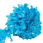 PARADE, FLOAT, PARTY Fringe 4 ROLLS OF 25 FT  Tissue Festoon