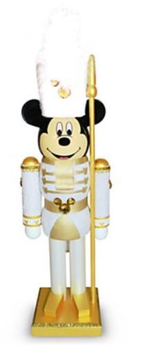 Disney Parks White Guard Mickey Mouse Nutcracker Christmas H