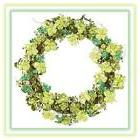 "St. Patrick's Day 18"" Glitter Shamrock Grapevine Wreath"