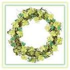 "St. Patrick's Day 18"" Glitter Shamrock Grapevine Wreath"