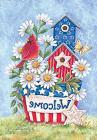Patriotic Blooms Spring Garden Flag Welcome Daisies Cardinal