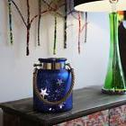 Patriotic Decor 4th of July Mercury Glass 8.6-inch Star Jar