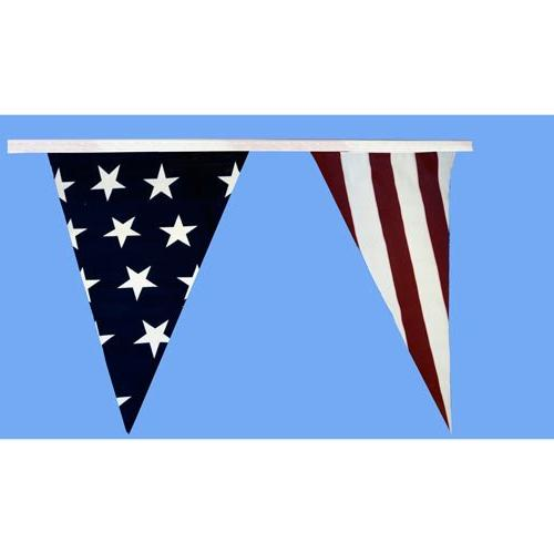 patriotic pennant streamers