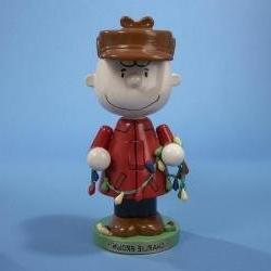 "9.75"" Peanuts Charlie Brown with Lights Decorative Christmas"