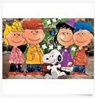 Peanuts Gang Around Tree Yard Decoration Art Holidays Christ