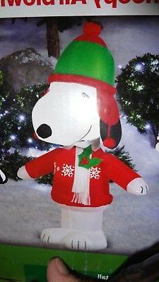 PEANUTS SNOOPY ugly sweater CHRISTMAS GEMMY AIRBLOWN INFLATA