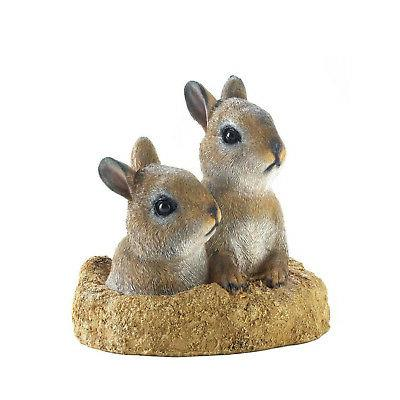 peek a boo garden bunnies