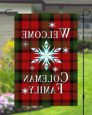 Personalized Star Garden Banner Flag Style