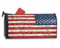 MailWraps Pledge of Allegiance Mailbox Cover #06448