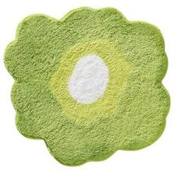 InterDesign Design Poppy Rug, Green, 26 Inch