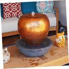 17-inch pottery overflowing tabletop fountain