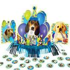 Puppy Dog Paw Prints Supplies PARTY PUPS TABLE CENTERPIECE D