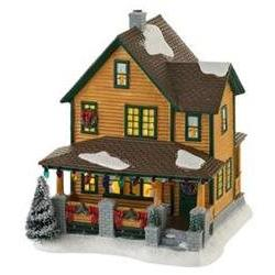Ralphie's House Department 56 Lighted Building