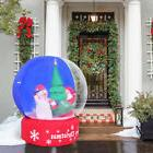 Random Shipments 4FT Airblown Inflatable SnowGlobe Christmas