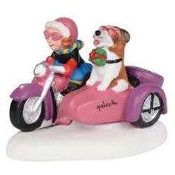 Rebel With A Dog Department 56 Figurine