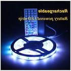 Rechargeable Battery Powered led lights strip Waterproof For